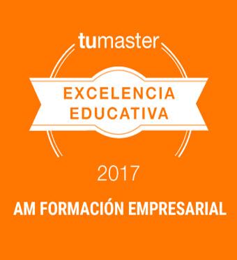 <h5>PREMIO A LA EXCELENCIA EDUCATIVA 2017. AM FORMACIÓN EMPRESARIAL</h5><br/>
